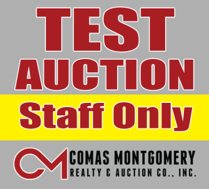 TEST AUCTION - Per Acre Simulcast