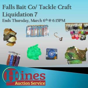 Falls Bait Co/ Tackle Craft 7
