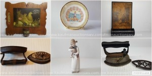 Sadd Irons, Matchbox Holders, Plates, Lladro Figurines