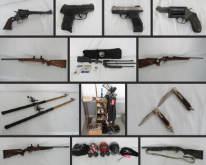 Outstanding Gun Collection, Knives, Ammo & Sportsman's Items!