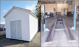 Online Only Auction - NWTNHR Auto Lifts & Storage Bldg.