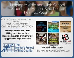 THE MENTORS PROJECT OF BIBB COUNTY ONLINE AUCTION