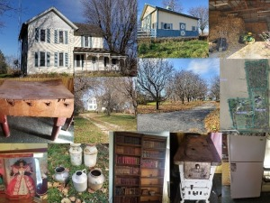 8.96 Acres Engelhardt Farmhouse and Personal Property