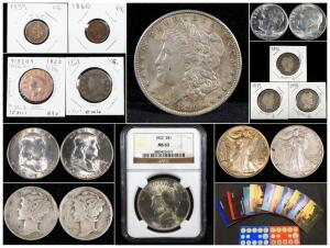 Coins, Coins, And More Coins Auction
