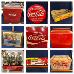 Neon Signs, Vintage Advertising Signs/Clocks, Petroliana, Tools & Collectibles at Absolute Online Auction