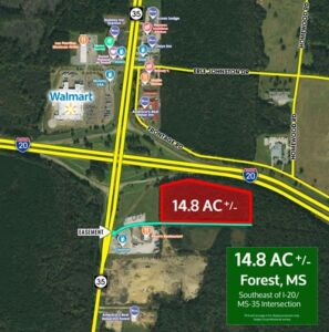 Commercial Real Estate Auction Forest, MS