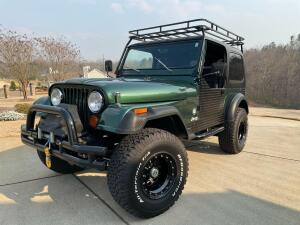 1985 CJ7 Jeep Auction - Fully Restored