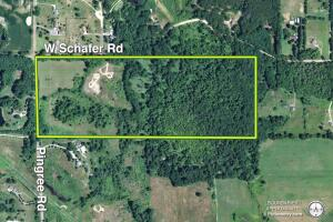 58 +/- Acres at the corner of Schafer and Pingree Rd, Livingston Co.