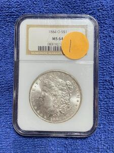 GRADED COINS, SILVER, HUMMELS, UPRIGHT FREEZER, AND MORE