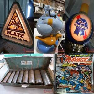 Beer Signs, Tools & Collectibles (2/2)