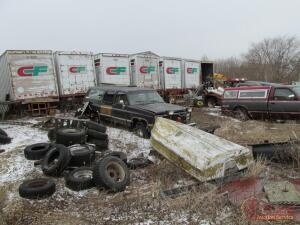 100+ Ton of Scrap (1st of 2 auctions)- Live & Online