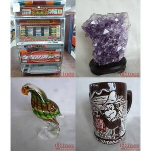 Slot Machine, Jewelry and Collectibles