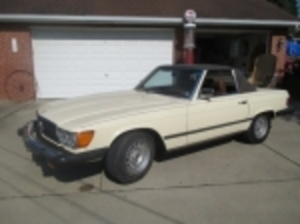 1978 Mercedes Benz Convertible Auction - Imperial PA