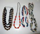 4 Beaded Necklaces
