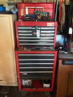 Sears Craftsman Toolbox with Tools