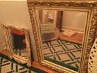 "2 wall Mirrors smaller (19""x16"") Larger (31""x 23"")"