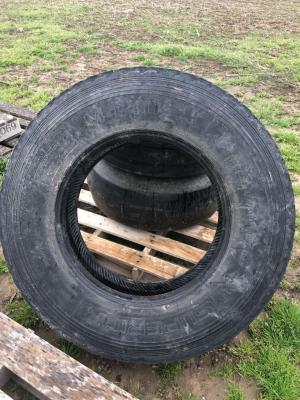 Wagon Tire 11-22.5 ** THIS ITEM HAS BEEN PAUSED FOR MORE INFORMATION PLEASE CONTACT TROY AT 989-666-6339 or BILL at 517-719-0768**