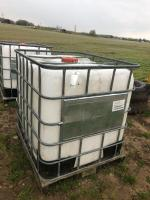 2 Poly Tanks ** THIS ITEM HAS BEEN PAUSED FOR MORE INFORMATION PLEASE CONTACT TROY AT 989-666-6339 or BILL at 517-719-0768**