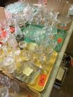 Lot of Viking, Cambridge, and Fenton glassware
