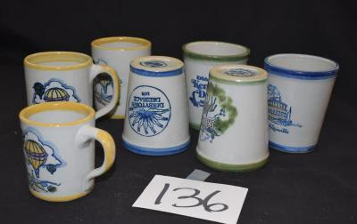Box Lot-7 Louisville Stoneware Cups