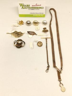 Variety Jewelry Lot - includes Gold Pieces