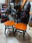 (2) Kitchen Chairs
