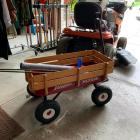 Radio Flyer Wagon & Contents