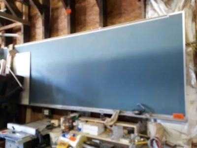 12 ft x 4 approximately chalkboard needs to be removed