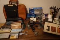 Miscellaneous Supplies: Briefcases, Three Hole Punches, Envelopes, Adding Machine,  Magnifying Glasses, NEW Schaeffer & Cross Writing Instruments, Staples, & More