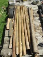 WOODEN LANDSCAPE TIMBERS