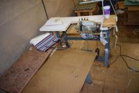 Union Special Sewing Machine With 2 Tables & Chair