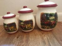 Tractor design canister set