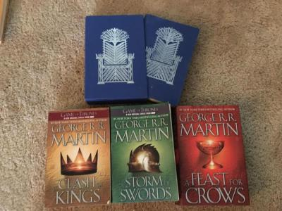 Game Of Thrones Book Lot