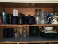 Mugs and Plateware Lot