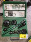 "Greenlee 1/2"" - 2"" Conduit Knockout Punch Set"