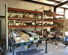 "Steel Shop Shelving -  Contents NOT Included - Comes In Two Sections & Buyer Must Disassemble  17'W x 4'4""D x 10"" H"