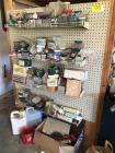 Endcap with Screws, Nuts, Bolts, & other Misc. Items