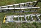 3 Aluminum Step Ladders-one is 8 ft Werner