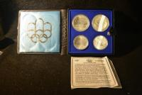 1976 MONTREAL OLYMPIC SILVER COIN SET