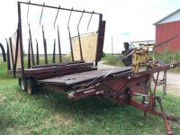 New Holland 1044 Pull Type Bale Stacker, S/N - 15545