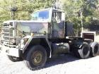 1979 AM general M916 6 x 6 military truck tractor -vin #ot57146610030 no title
