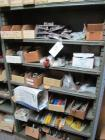 Shelf and content; large assortment of Allen wrenches, welding clamps, etc.