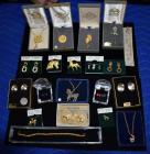 Necklaces, Pins, Earrings and Bracelet