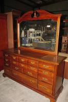 AMERICAN DREW, INC. DRESSER WITH MIRROR