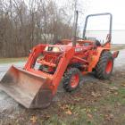 Kubota BF2350 4x4 Tractor with Loader