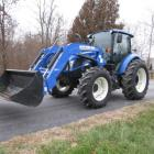 2016 New Holland T4-120 4x4 Tractor & Loader