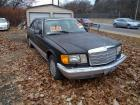 1986 Mercedes Benz 560ESL - starts, runs but back fires - located off-site at 4401 Ohio River Blvd. Bellevue Pa 15202