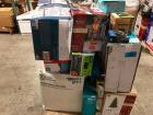 Pallet of Household Items including 7.5ft Christmas Tree