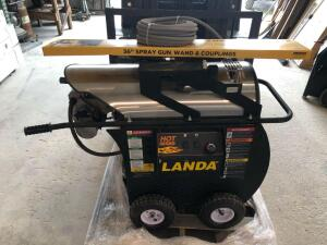 Landa Hot Series Hot Water Pressure Washer with New Wand and Hose