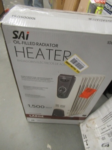 SAI OIL FILED HEATER